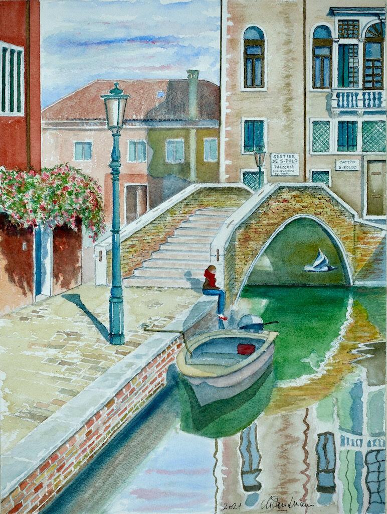 Ponte dei Campo san Boldo, Venezia