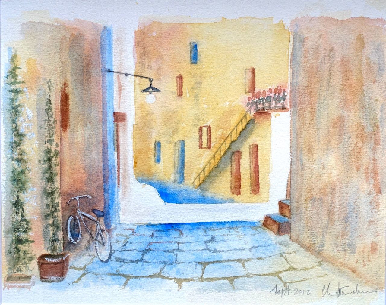 Village dans le Midi