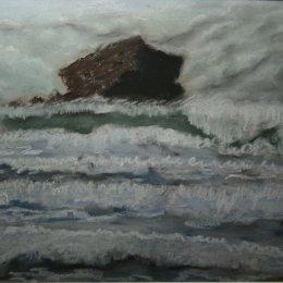 Waves at Gull Rock