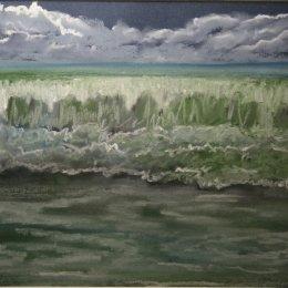 Portreath shoreline