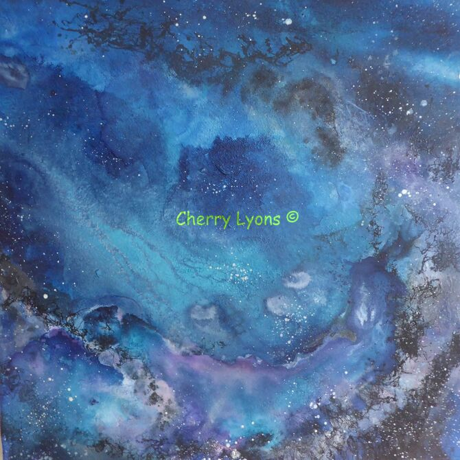 Cosmic Encounter by Cherry Lyons