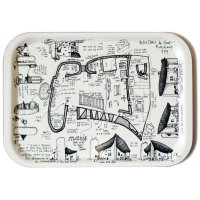 Ronchamp tea tray