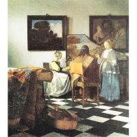 Vermeer's tiles