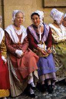 Women in Provencal Costume