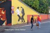 DIR01 Pulp Fiction Street Art Cannes