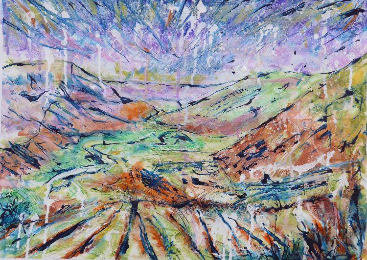 Elan Valley above Pont ar Elan