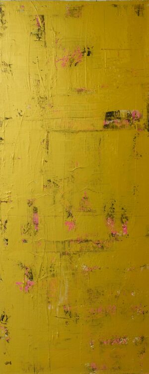 Gold & Pink abstract