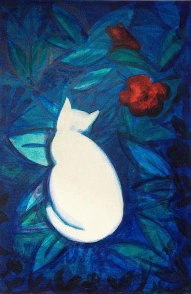 BLUE GARDEN CAT