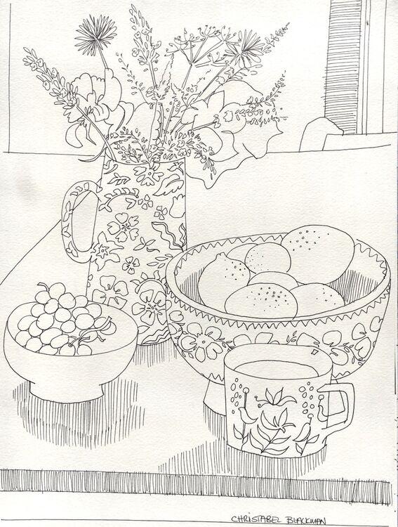 Summer Table, Borris