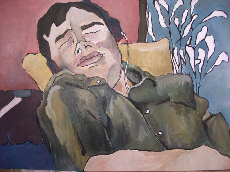 Graham Sleeping no1