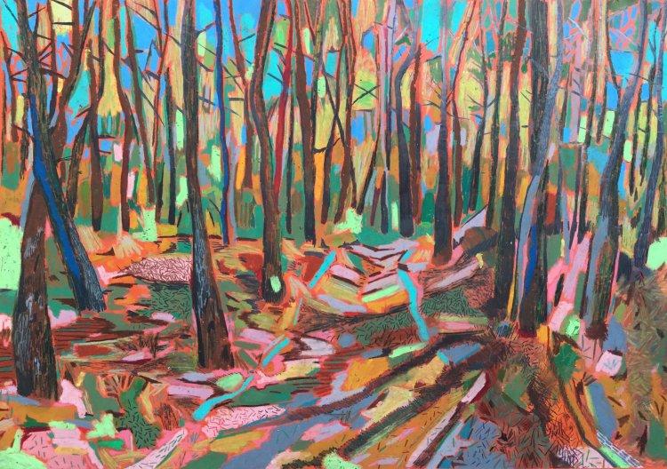 'Ochre woods'
