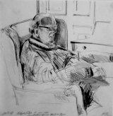 Dad in armchair