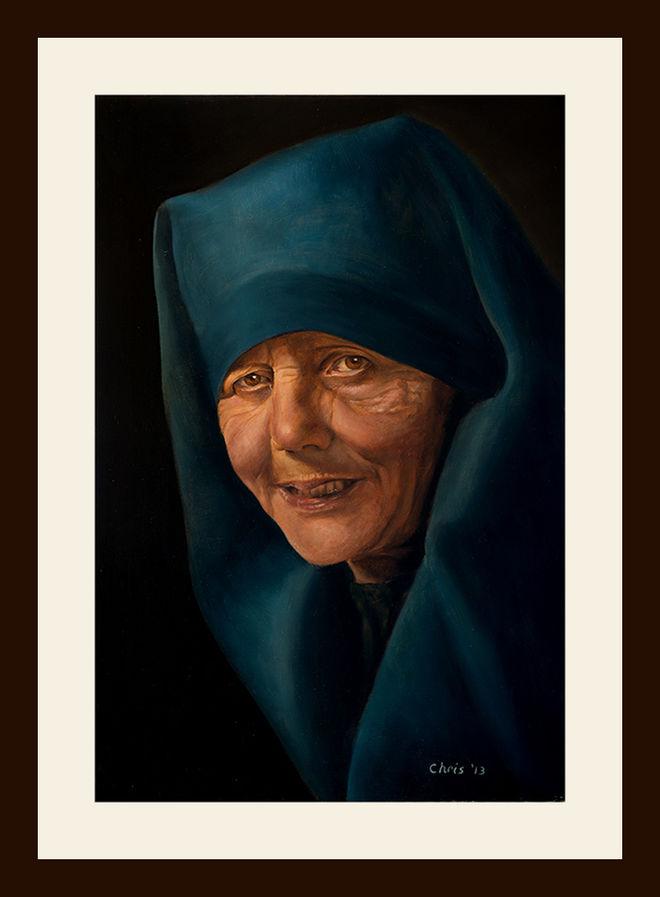 Oils on canvas 2013. 60cm X 40cm