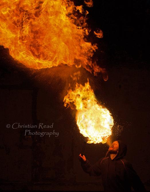 Fire ...