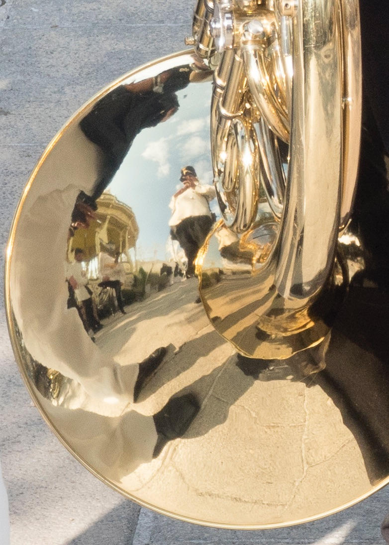 2021 - reflections on alberobello brass band