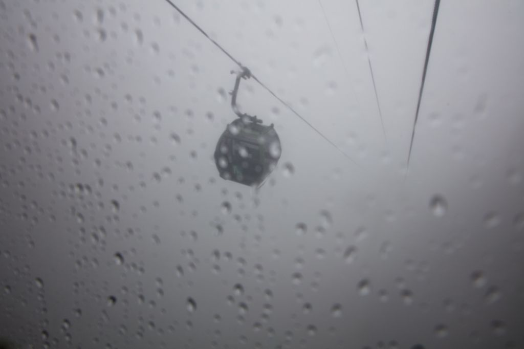 China 002: cable car to yellow mountains