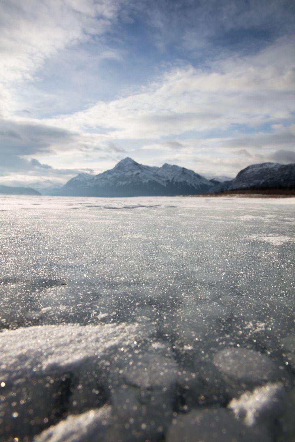 Canadian Rockies 005: lake abraham one