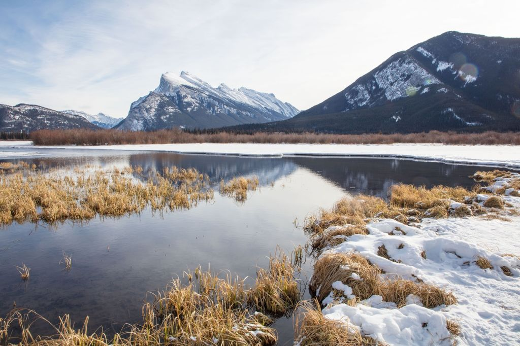 Canadian Rockies 010: vermillion lakes one