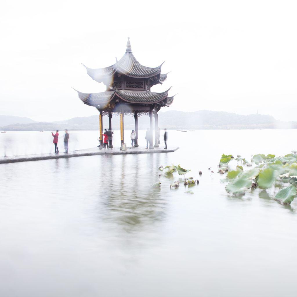 China 009: lakeside pagoda