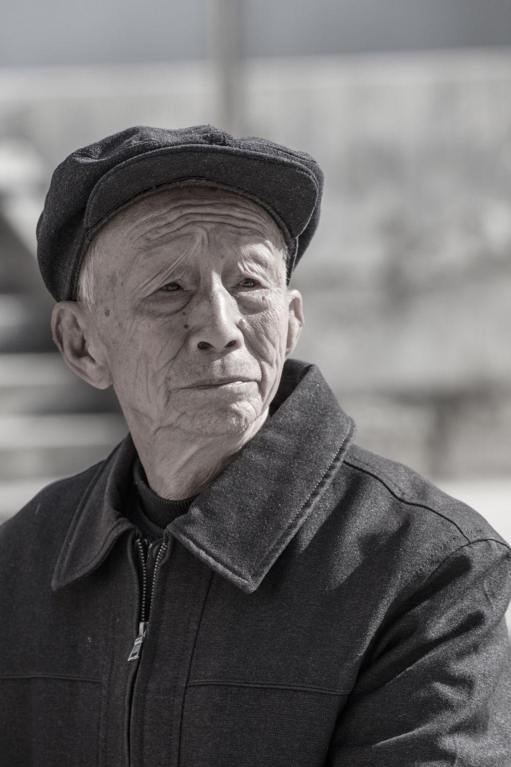 China 013: mountain village four, portrait