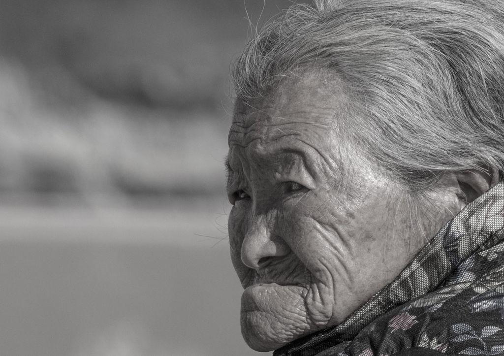 China 016: mountain village seven, portrait