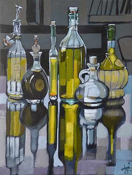 CHRISTINE WEBB BOTTLE SERIES005 SOLD