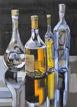 CHRISTINE WEBB BOTTLE SERIES011 SOLD