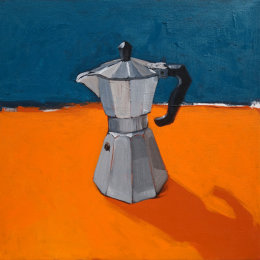 CHRISTINE WEBB Coffeepot 01 40x40cm SOLD