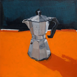 CHRISTINE WEBB Coffeepot 02 40x40cm
