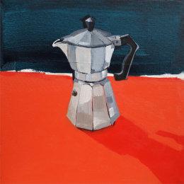 CHRISTINE WEBB Coffeepot 03 40x40cm SOLD