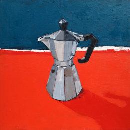 CHRISTINE WEBB Coffeepot 04 40x40cm