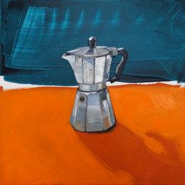 CHRISTINE WEBB Coffeepot 05 46x46cm