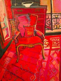 AVAILABLE through Michael Reid Gallery Murrurundi michaelreidmurrurundi.com.au CHRISTINE WEBB Marseille Chair, 61x46cm e