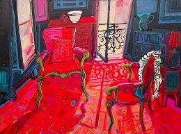 AVAILABLE through Michael Reid Gallery Murrurundi michaelreidmurrurundi.com.au CHRISTINE WEBB Marseille Summer, 122x91cm