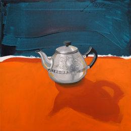 CHRISTINE WEBB Teapot #1 46x46cm