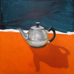 CHRISTINE WEBB Teapot #2 46x46cm