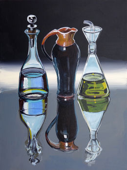 Valezquez Jug with Two Bottles, 30x40cm AUS$1,400 SOLD