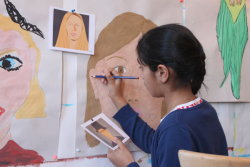 Adding details to a portrait