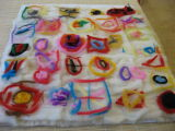 Everything in place for felting -