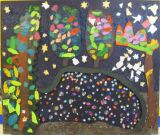The twinkly cave panel is complete.