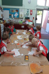 making animals for our cave painting