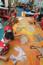 painting our animals