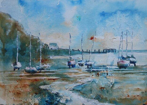 Harbour, Aberdour - SOLD