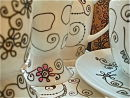 ~Mad mugs, egg cups + cups + crazy coasters~