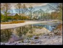 HC Winter On Lumsdale Pond by Keith Brown