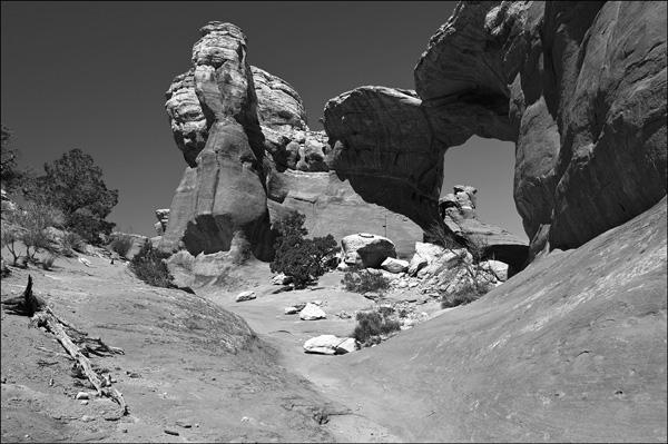 Broken Arch, Arches NP, Utah