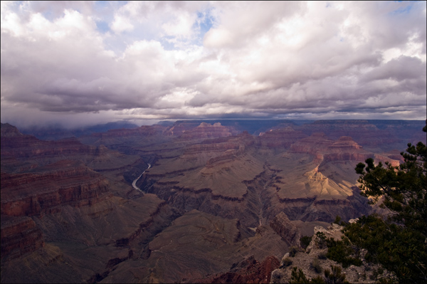 Storm Clouds over the South Rim