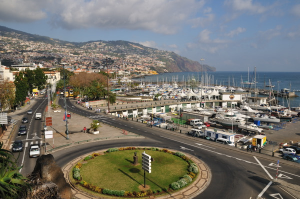 Funchal Marina and Seafront