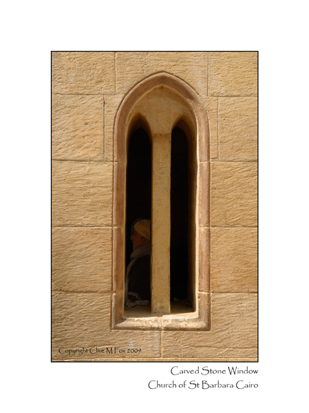 Carved Stone Window