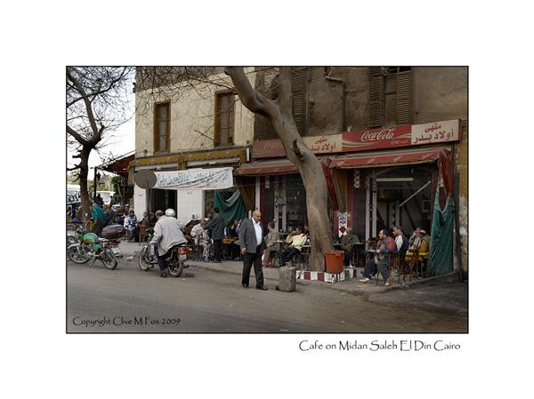 Cafe on Midan Saleh El Din Cairo
